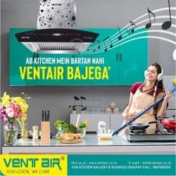 Ventair Kitchen Chimney