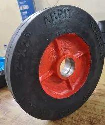 Rubber Bonded Wheel 12.2