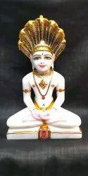 Parasnath Jain Marble Idol