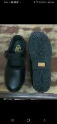 Bingo Black Children's School Shoes with back foam, Size: 5x7 : 8x10 : 11x13 : 1x3 : 4x5