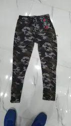 Cotton Cargos Ladies Military Pant, Waist Size: 28.0