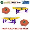 Cement Paver Block Making Table