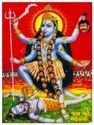 Ceramic Kali Maa God Picture Tile, Thickness: 8 - 10 Mm, Size: 25 X 15 Inch