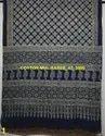 Cotton Mulmul Ajrakh Hand Block Sarees