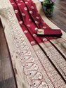 Ligalz presenting new banarasi jacquard  sarees