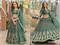 Heavy Art Silk Lehenga With Exclusive Embroidery Fancy Work
