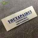 Rectangular Handmade Woven Labels for Garments, Packaging Type: Packet