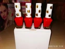 Red Nail Polish, Packaging Size: 125 Box Outer Box