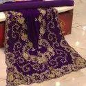 Chiffon Embroidered Somali Dirac Fabric Somali Bridal Dirac Islamic Wear