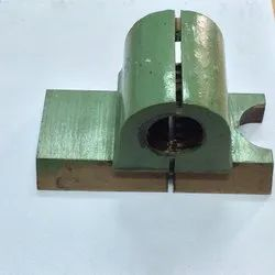 Lathe Machine Brass Half Nut, For Industrial