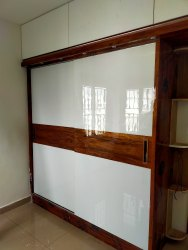 Acrylic Finish Wardrobe
