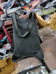 Black Polyester Bmw Sport Bag