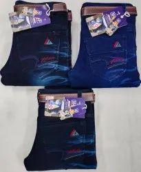 Denim Party Wear Kniting Kids jeans, Size: 32x40, Machine wash