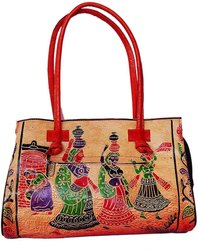 Handicraft leather baga