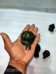 Shivling In Emerald (Panna) Gemstone