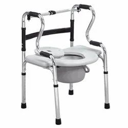 Folding Walker With Commode