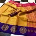 Kora Tanchoi Banarasi Silk Sarees