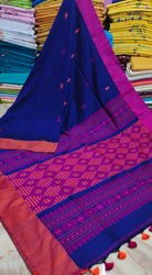 Soft Cotton Handloom Weaving Sarees
