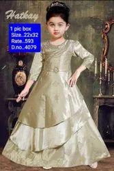 4079 Kids Party Wear Gown