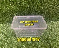Plastic Biryani Packing Tray