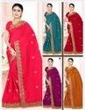 Heavy Work Party Wear Sarees