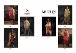 Georgette Party Wear Deepsy Muzlin Vol 6 Embroidered Suits