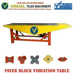 Concrete Tiles Vibration Table