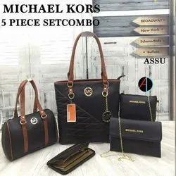 MK Synthetic Ladies Leather Bag