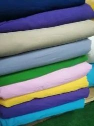 Solid Color Cotton Plain Fabric