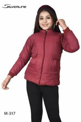 Silver line Woolen Girls Winter Jackets, Size: MEDIUM