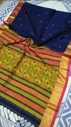 Khadi Cotton Hand Spun Weaving Sarees