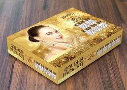 Gold Chemical Facial Kit, For Personal, Packaging Size: Normal