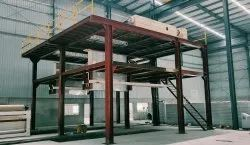 Double Beam Non Woven Fabric Making Machine Installation