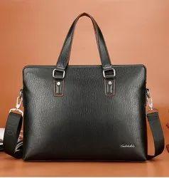 Leather Conference Bags, Laptop Briefcase, PU Men Handbag, Messenger Bag
