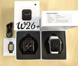 China Black W26 Smartwatch, For Personal Use, 110 Gram