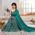 Designer Embroidery women Saree