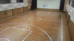 25 mm teak wood flooring