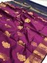Colourthreads Creation 5.5 M (separate Blouse Piece) Banarasi Silk Saree, With Blouse Piece