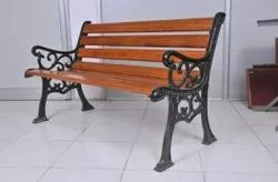 Paint Coated Cast Iron Garden Chair, For Outdoor, Size: Width - 5 Feet