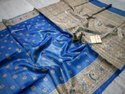 Hand Madhubani Painted Tussar Ghicha Silk Sarees