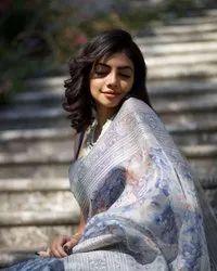 Ladies Designer Organza Saree