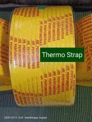 Yellow PP STRAPPING for Automatic