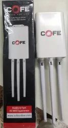 Wired White Cofe 4G Sim Outdoor Antenna Router