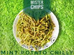 Potato Finger Chips - Mint (Pudina), Packaging Size: 200gms