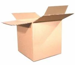 Brown Rectangular Corrugated Boxes, Weight Holding Capacity (Kg): < 5 Kg, Size(LXWXH)(Inches): 12 X 10 X 8