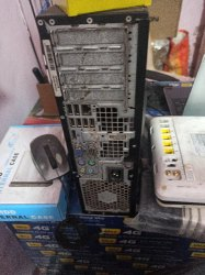 Core2duo Second Hand Computer Dell 780, Hard Drive Capacity: 250GB, Screen Size: 17