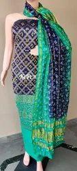Original Banarasi Bandhej Ghatchola Suit