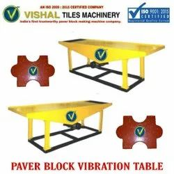 Paving Tiles Vibrating Table