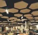Hexagon Suspended Cloud Acoustic Ceiling