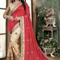 Embroidery Work Saree for women